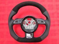 AUDI LIFT A1 A3 Q3 A4 A5 Q5 A6 A7 Q7 A8 CUSTOM MADE STEERING WHEEL