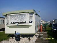 6 berth 2 bedroom caravan in ingoldmells on coral beach. Close to beach, fantasy island