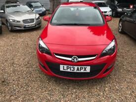 VAUXHALL ASTRA 1.4 ENERGY 5d 98 BHP 2 KEYS (red) 2013