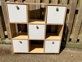 Shelving & Storage units for sale, ideal for kids bedroom