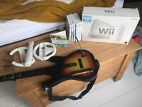 SOLD: Nintendo Wii console, games and accessory bundle