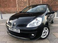 2008 / RENAULT CLIO /NEW SHAPE / ALLOYS / ELECTRIC WINDOWS / CD SYSTEM / GREAT DRIVER / AUG MOT .