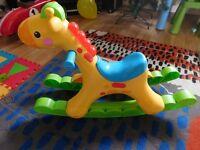 Fisher Price Rocking Tune Giraffe