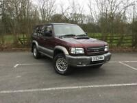 Isuzu Trooper Lwb DT Citation (maroon grey) 2003