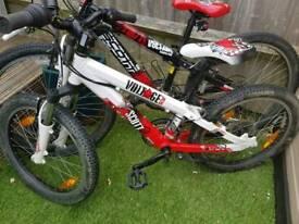 Boys Scott voltage bike