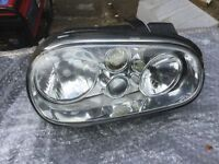 Headlight fir Mark 4 VW Golf o/side