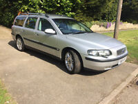 2001 Volvo V70 T Auto Estate towbar 7 seater new cambelt/water pump etc