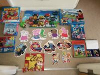 Puzzle (Paw Patrol) and other different puzzles with activities games