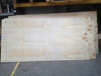 PLYWOOD FOR SALE 8 FT x 4 FT - 9MM THICK £10 A SHEET
