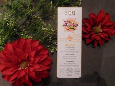 (32,80€/100ml) Eco Cosmetics Baby & Kinder Sonnencreme LSF 50+ 50 ml