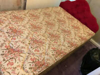 Double bed with mattress £19.99