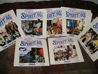 7 x Spirit of the Sixties Vinyl LPs - Original Artists