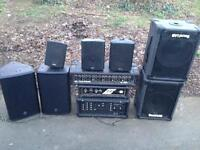 DJ/PA equipment