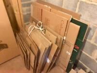 Cardboard boxes / moving packaging