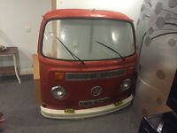 VW Camper T2 Bay Window Front - Very Good Condition - Usable Or Display -1970s