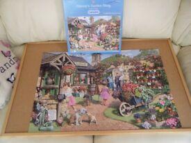 'Glenny's Garden Shop' 1,000 piece Jigsaw Puzzle