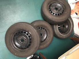 Winter tyres / Steel wheels