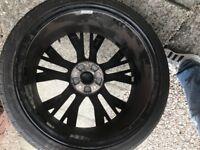 VW Genuine Santiago Alloy 19' with Tyre
