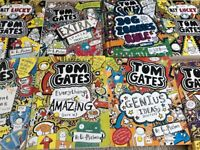 Children's books. Wimpy Kid, Tom Gates, Roald Dahl, etc.