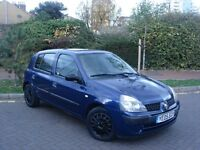 2005 RENAULT CLIO 1.4 EXPRESSION AUTO 5 DOOR LADY OWNER