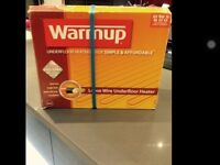 Warm up Under floor heating electric wire kit