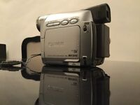 Camcorder canon mini digital 20x400x stylish and easy to use. Mv800 used once unwanted gift.