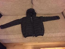 NEXT black boys winter coat age 9