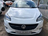 BREAKING 2017 VAUXHALL CORSA 1.4 PETROL MANUAL