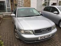 Audi A4 1.8 turbo starts and drives a little then over heats so selling for spares and repair