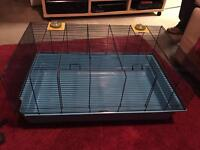 Large cage suitable for guinea pig or similar