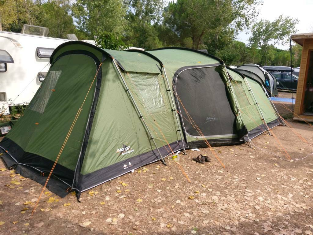 Vango Maritsa 600 Large Family Tent In Shirley West