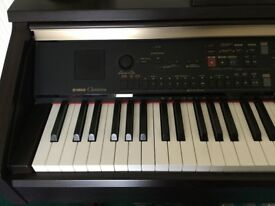 Yamaha CVP301 Clavinova digital piano, weighted, +footstool in pristine condition