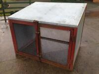 Metal box compressor or generator house