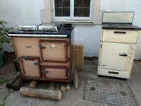 Rayburn Royal OF22 and Belling Oven