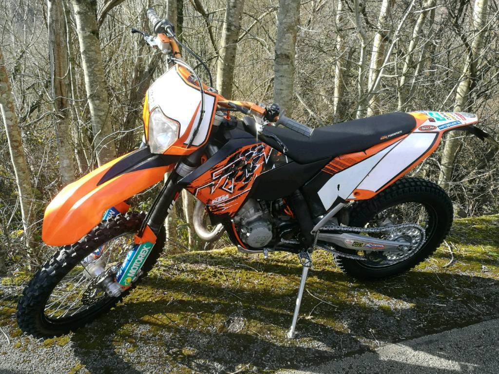 ktm 125 exc 2008 road legal enduro bike in blackwood. Black Bedroom Furniture Sets. Home Design Ideas