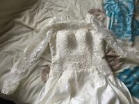 Brand new Ivory A-line wedding dress size 10