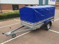 Faro Tractus Car box Trailer 7x4 FT witch high 80cm cover