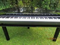 piano shell baby grand keyboard stand yamaha keyboard roland