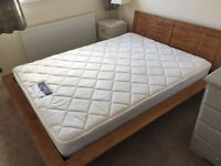 King size bedframe and/or mattress