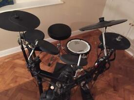 Digital drum set