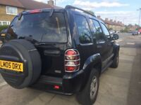 Jeep cherokee 2.4 Black manual petrol