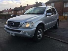 Mercedes ML 2.7 diesel,7 seater px Peugeot,astra,Audi