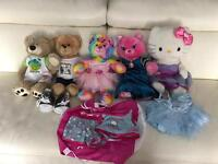 Build A Bear Collection And Wardrobe