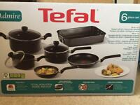 Tefal 6 piece cooking set