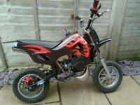 Mini Moto Pit Dirt Bike 50cc