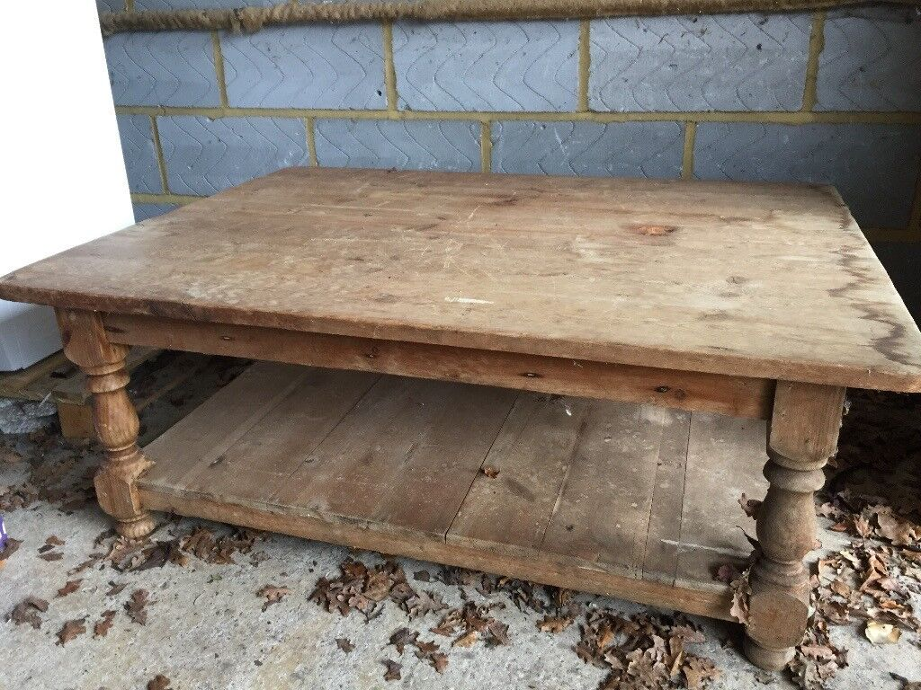 Pine Low Rise Coffee Table