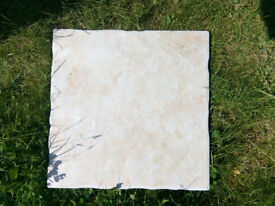 Never used ceramic light pink floor tiles 31x31cm
