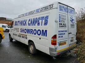 2003 MERCEDES SPRINTER 2.2 CDI LONG WHEEL BASE SELLING SPARES OR REPAIRE