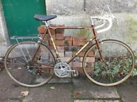 Super cool retro vintage Raleigh road bike cycling