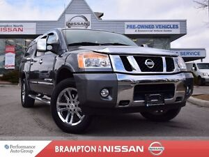 2013 Nissan Titan SL *Leather, Navigation, Rear view monitor*